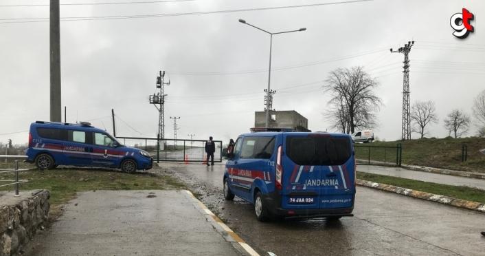 Bartın'da bir köy Kovid-19 nedeniyle karantinaya alındı