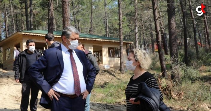 Bartın'da KöyPark projesi çalışmalarına başlandı
