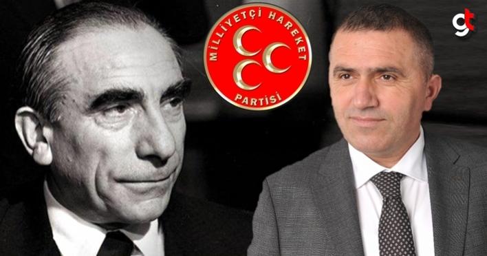 Burhan Mucur, 'Başbuğumuz Alparslan Türkeş'i saygı ve minnetle anıyoruz'