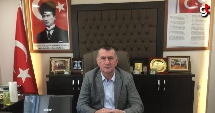 Çarşamba Ziraat Odası Başkanı Aydemir, 550 bin ton fındık rekoltesi beklediklerini bildirdi