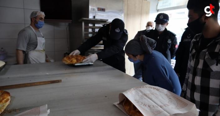 Düzce'de fırınlarda ramazan denetimleri sürüyor