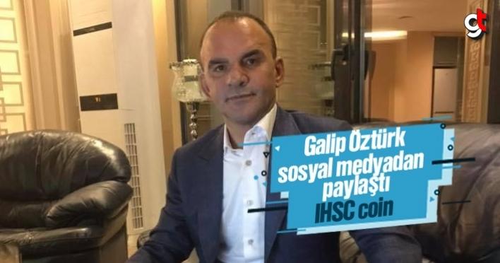 Galip Öztürk, IHSC coin isimli kripto para çıkaracak