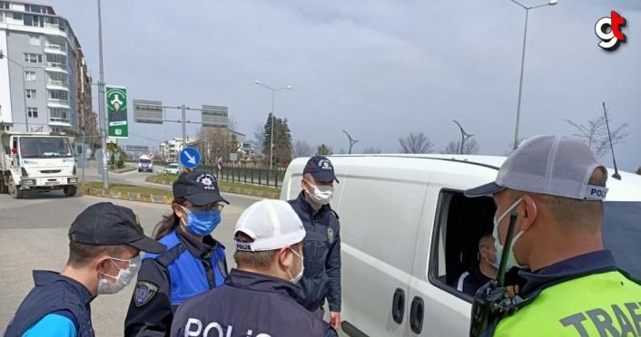 Giresun'da özel çocuklar polis ekipleriyle buluştu