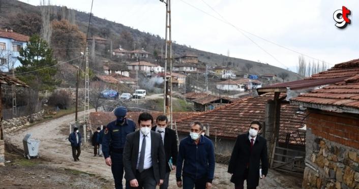 Gümüşhacıköy Kaymakamı Fırat'tan köylere ziyaret