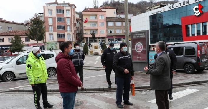 Havza Belediye Başkanı Özdemir'den 10 Nisan Polis Günü ziyareti