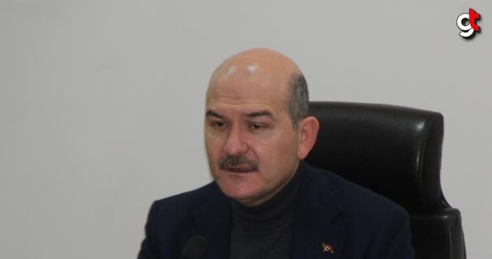 İçişleri Bakanı Soylu, Giresun'da 22 Ağustos'ta yaşanan sel afetiyle ilgili toplantıya katıldı: