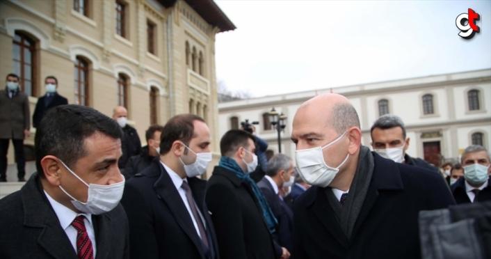 İçişleri Bakanı Soylu, Kastamonu'da Güvenlik Toplantısı'na katıldı