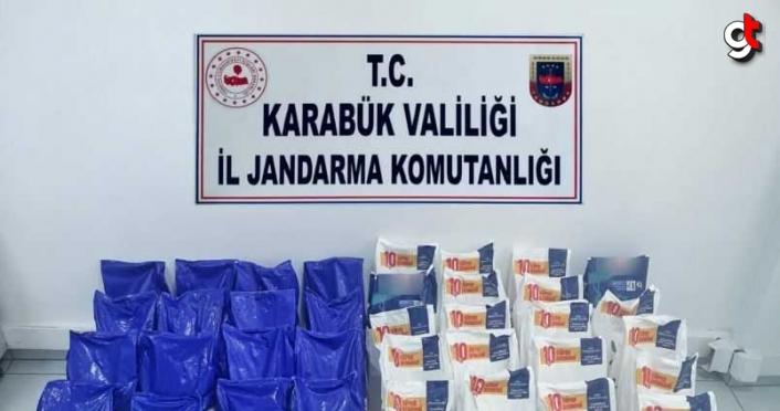 Karabük'te 470 kilogram sahte deterjan ele geçirildi