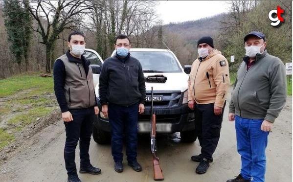 Karabük'te kaçak avcılık yapan 2 kişiye 5 bin lira ceza uygulandı