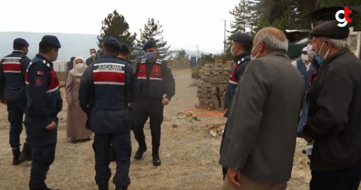 Karabük'te köylüler arasında kavga