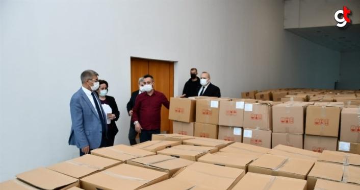 Karabük'te ramazan dolayısıyla 840 aileye 240 bin lira yardım yapıldı