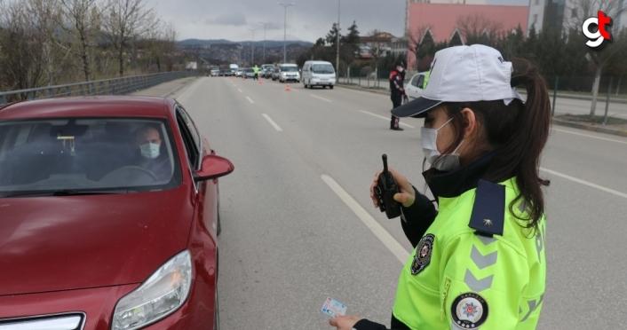 Karabük'te trafiğe Berna komiser