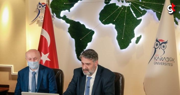 KBÜ ile Azerbaycan Devlet Petrol ve Sanayi Üniversitesi arasında iş birliği