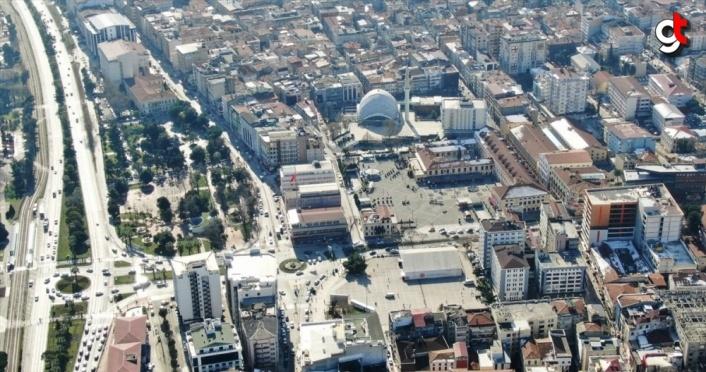 Kentsel dönüşüm ve gelişim alanı ilan edilen Samsun Cumhuriyet Meydanı'ndaki çalışmalar 2023'te tamamlanacak