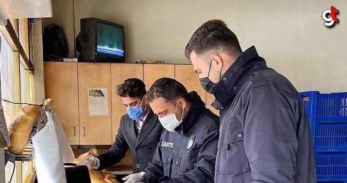 Ladik Belediyesi Zabıta ekiplerince fırınlarda denetim yapıldı