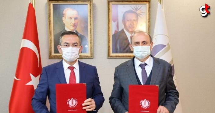 Ordu Üniversitesi ile Arıcılık Araştırma Enstitüsü arasında iş birliği protokolü