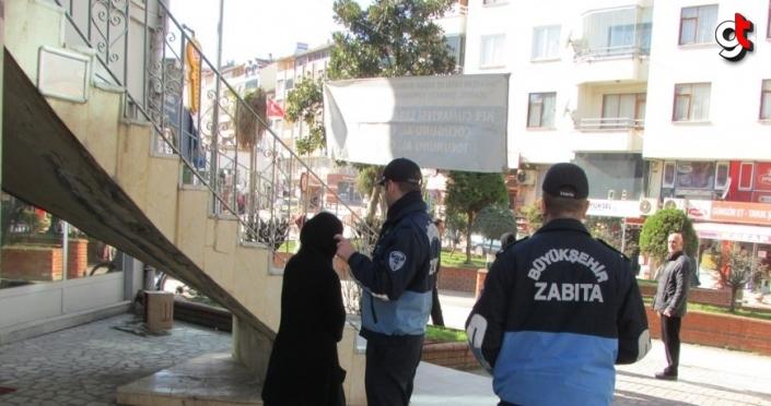 Ordu'da yakalanan 30 dilenciye idari para cezası verildi