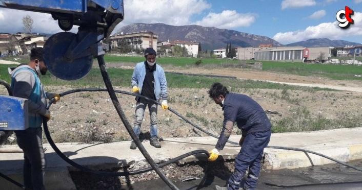 Safranbolu'da altyapı çalışmaları sürüyor