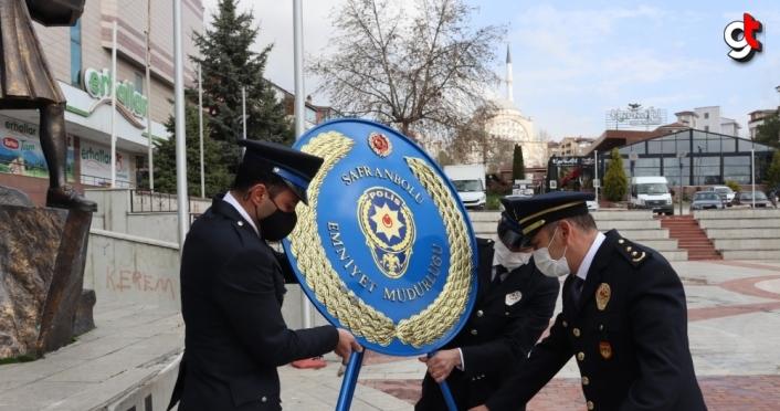 Safranbolu'da Türk Polis Teşkilatının 176. kuruluş yıl dönümü kutlandı
