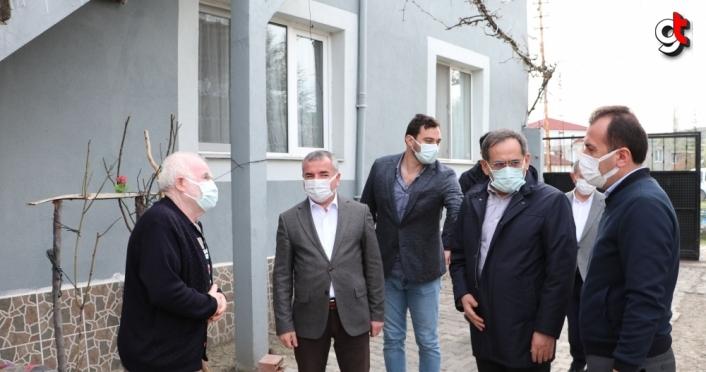 Samsun Büyükşehir Belediye Başkanı Demir'den Havza'da inceleme