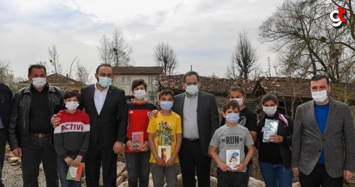 Samsun Büyükşehir Belediye Başkanı Demir'den Kavak ilçesine ziyaret