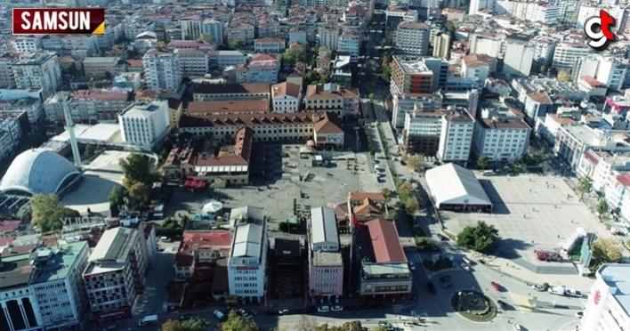 Samsun Cumhuriyet Meydanı ve çevresi yıkılacak