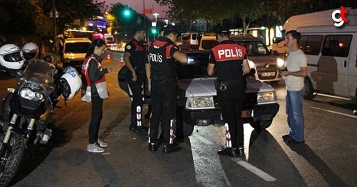 Samsun'da polis uygulamasında 34 kişi yakalandı