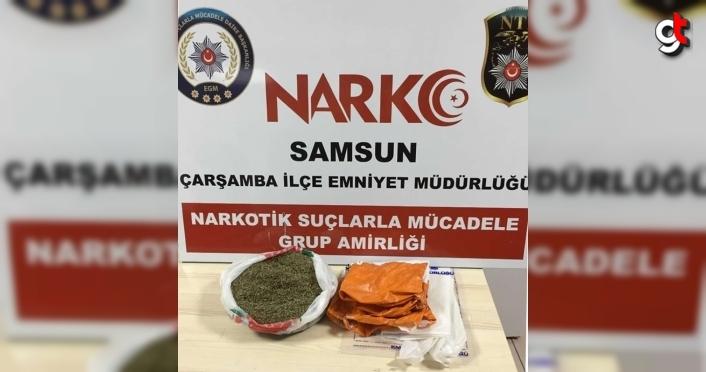 Samsun'da düzenlenen uyuşturucu operasyonunda 2 kişi yakalandı