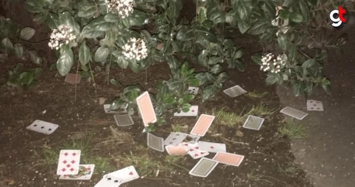 Samsun'da evde kumar oynayan ve Kovid-19 tedbirlerini ihlal eden 9 kişiye para cezası