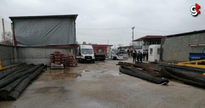 Samsun'da gece bekçisi iş yerinde ölü bulundu
