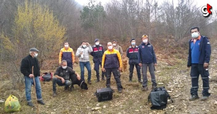 Sinop'ta düştüğü uçurumda 4 gün mahsur kalan köpek AFAD ekiplerince kurtarıldı
