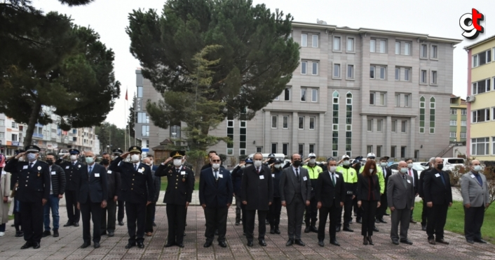 Sinop'ta Türk Polis Teşkilatının 176. kuruluş yılı dolayısıyla etkinlik düzenlendi