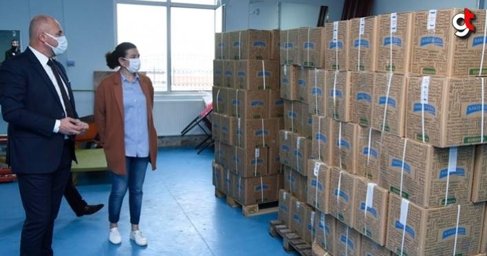 Tekkeköy Belediyesi, sosyal yardımlar ile vatandaşın ihtiyacını karşılıyor