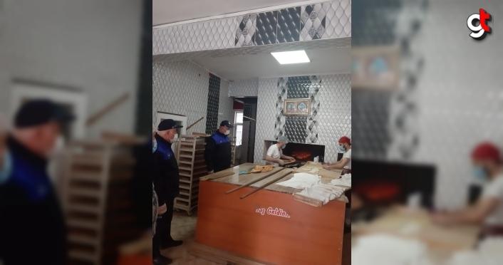 Tokat'ta zabıta, fırınları denetledi