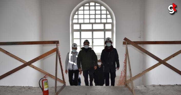 Trabzon'daki tarihi vilayet binası restore ediliyor