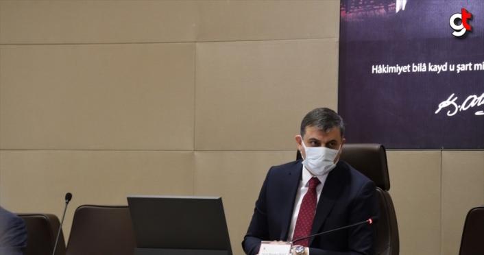 Vali Çiftçi, Çorum'da Kovid-19 vaka sayısının 11,5 kat arttığını söyledi