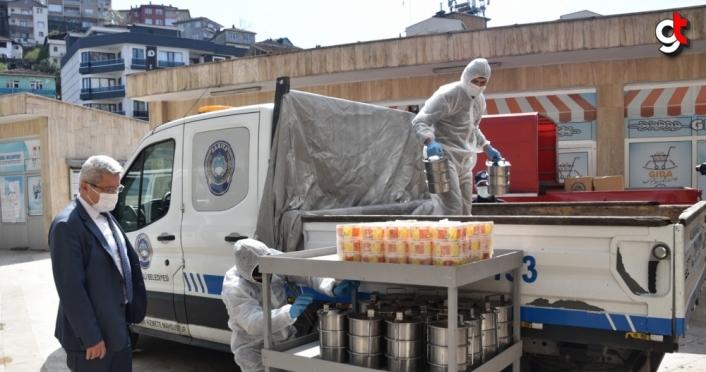 Zonguldak'ta iftar yemekleri ihtiyaç sahiplerinin evlerine götürülecek