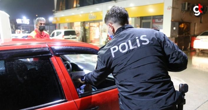 Bolu'da polis ekipleri
