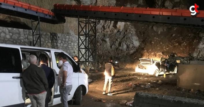 Düzce'de kovalamaca sonrası çalıntı aracı bırakıp kaçan zanlının yakalanması için çalışma başlatıldı