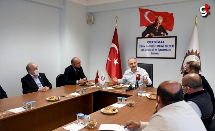 İYİ Parti Ekonomi Politikaları Başkanı Usta, Çorum'da iş adamlarıyla bir araya geldi
