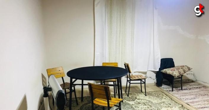 Samsun'da evde kumar oynayan ve Kovid-19 tedbirlerini ihlal eden 5 kişiye para cezası