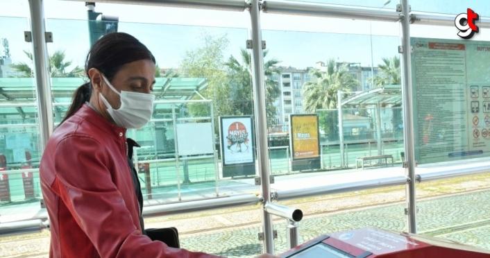 Samsun'da sağlık çalışanları 12 ayda 1,5 milyon kez ücretsiz toplu taşıma kullandı