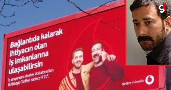 Samsunlu Mehmet Aras, reklam yüzü oldu