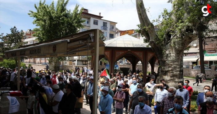 Tokat'ta İsrail saldırısında şehit olanlar için gıyabi cenaze namazı kılındı