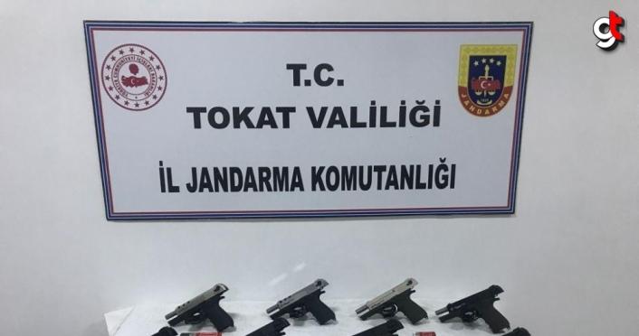 Tokat'ta silah kaçakçılığı operasyonunda bir kişi yakalandı