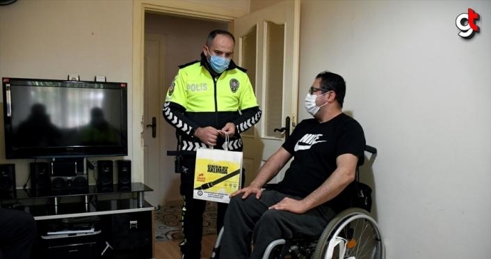 Trafik kazası nedeniyle tekerlekli sandalyeye mahkum olan kişiden