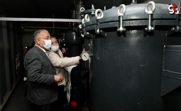 Başkan Güler, gölet ve su arıtma tesisinde incelemelerde bulundu