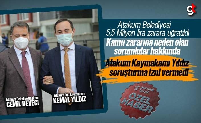 CHP'li Atakum Belediyesi'nin '5,5 Milyon Liralık Kamu Zararı' soruşturmasına Kaymakam Yıldız engel oldu