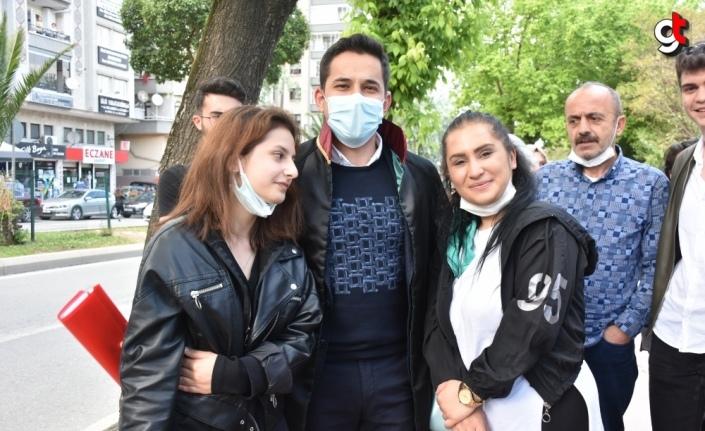 Samsun'da eski eşini darbeden sanığa 10 yıl 4 ay hapis cezası