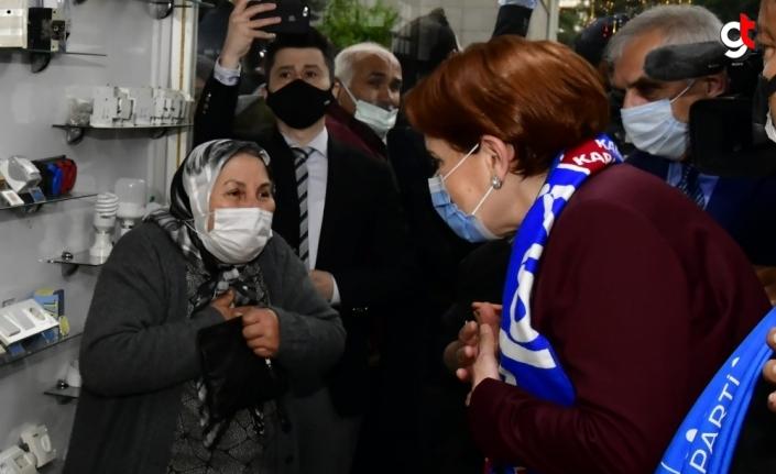 İYİ Parti Genel Başkanı Akşener Karabük'te ziyaretlerde bulundu: